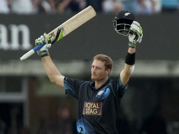 File photo of Martin Guptill