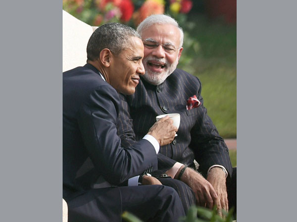 Obama thanks Modi for memorable visit