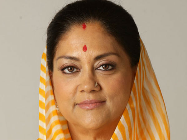 Raj: Congress hits out at Raje govt