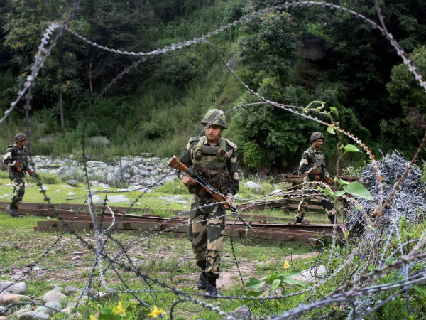 Shelling by Pakistan Rangers: Uneasy calm again on international border in Jammu.