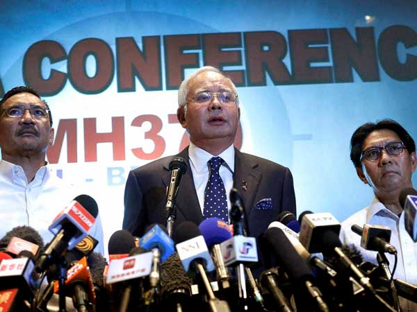 Malaysian PM: Will continue MH370 search