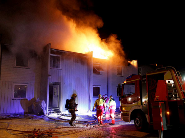 Three dead after fire in Oslo