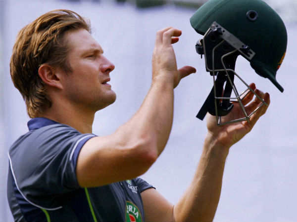Shane Watson will miss Friday's game