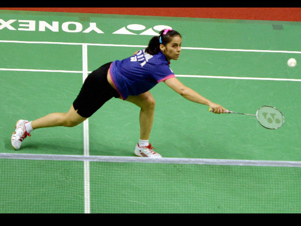 Saina one step away from retaining title