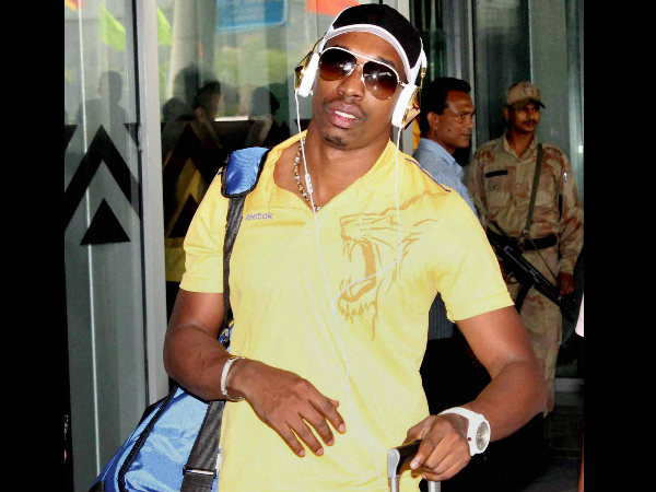 File picture of Dwayne Bravo