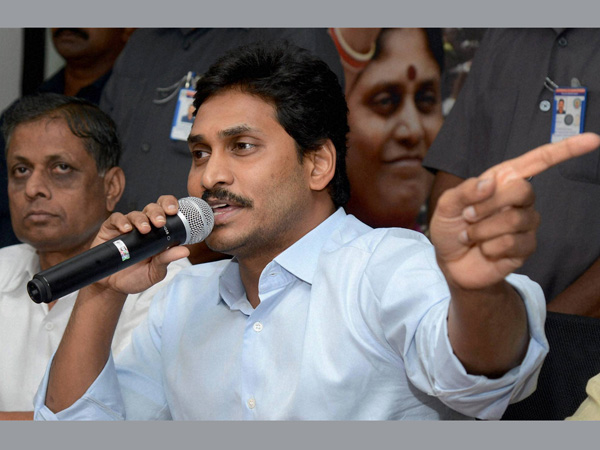Jagan Mohan Reddy holds hunger-strike to protest against Naidu govt