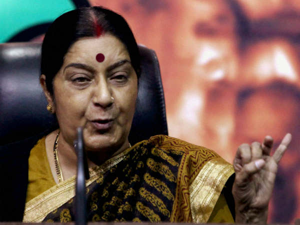 India committed to 'early settlement' of boundary issue: Sushma Swaraj