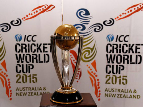 World Cup 2015 trophy. Photo: ICC