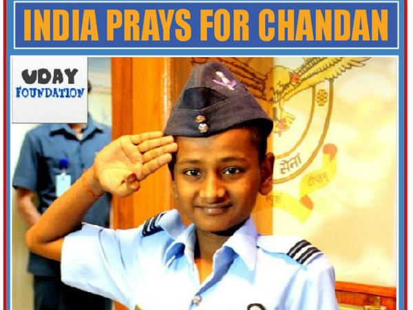 Chandan finally receives his Tejas