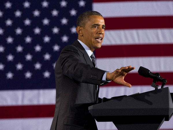 Obama unveils USD 4 trillion budget