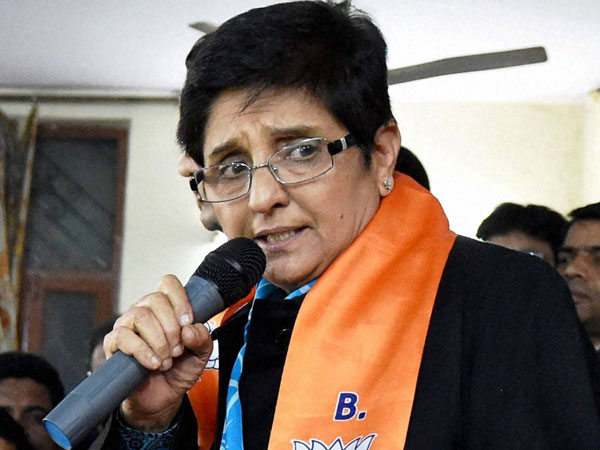 Kiran Bedi alleges her office owner getting threats.