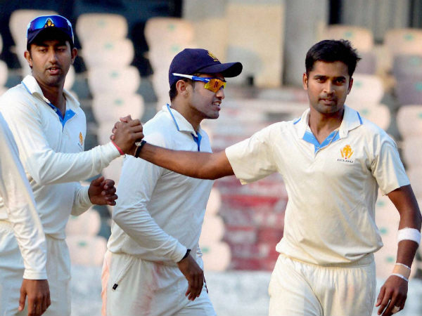 File photo of Vinay Kumar (right)