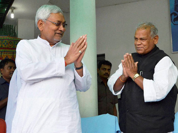 JD-U may be headed for split over Manjhi