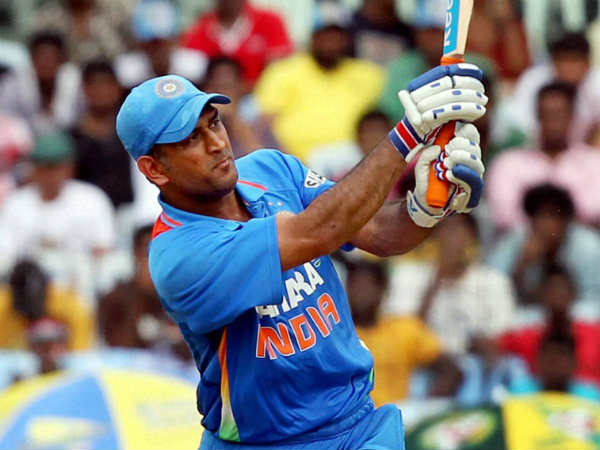 Dhoni hit double century for his school