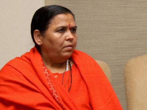 दिग्विजय पर लगाया आरोप मेरा नहीं पार्टी का फैसला था: उमा भारती