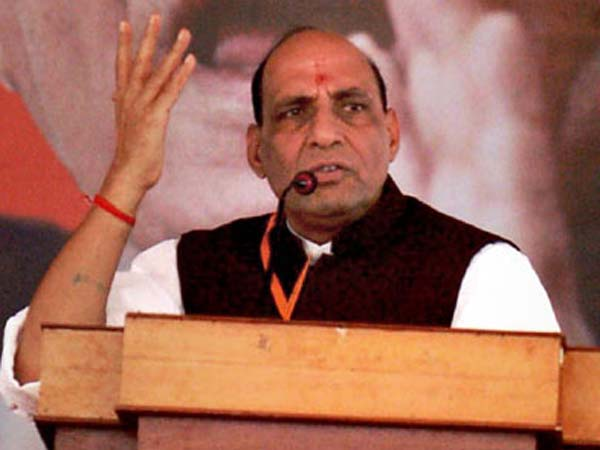 Rajnath Singh talks tough on terrorism