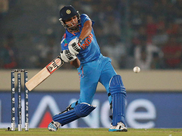 Rohit Sharma scored 122-ball 150