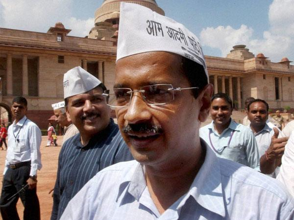 Kejriwal positions as a 'change agent'