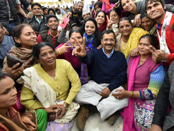 Kejriwal thanks wife for 'always being there'