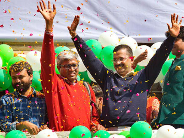 Kejriwal cautions AAP over clear mandate