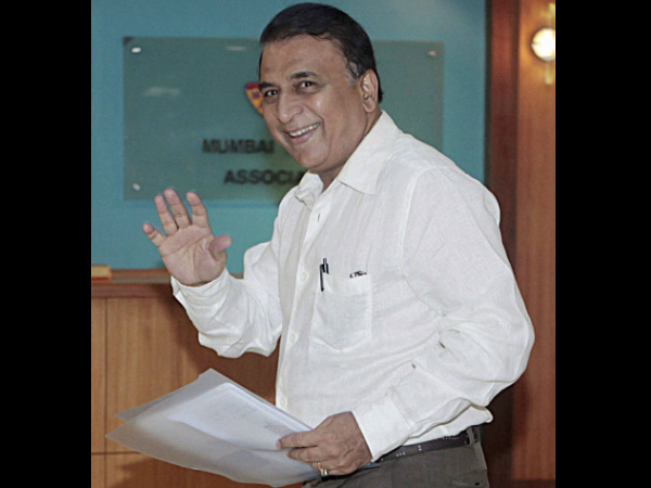 File photo of Sunil Gavaskar