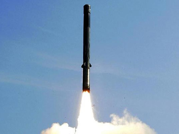 BrahMos test-fired from INS Kolkata
