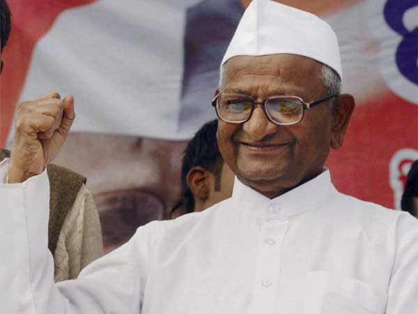 Proud that one of our volunteers has become Delhi CM, says Anna Hazare.