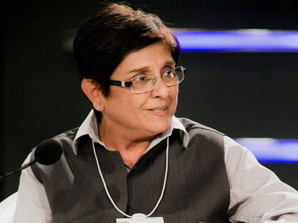 Former IPS officer Kiran Bedi