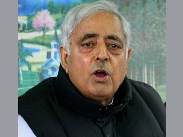 File photo of Mufti Mohammad Sayeed