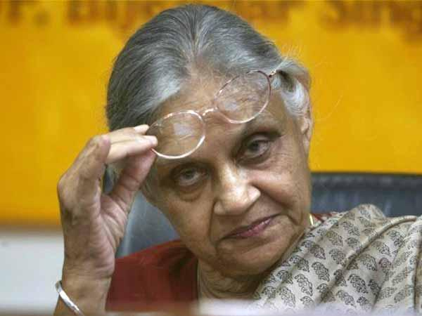 File photo of Sheila Dikshit