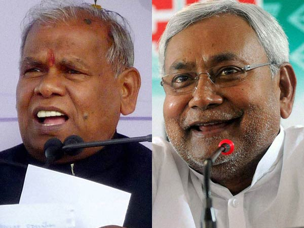 Jitan Ram Manjhi and Nitish Kumar