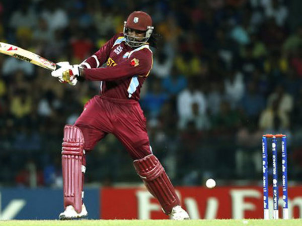 Chris Gayle blasted a record 215