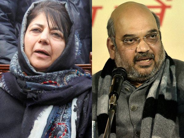 J&K govt formation: PDP, BJP to reach consensus today; Mufti Mohd to be sworn in as CM on March 1.