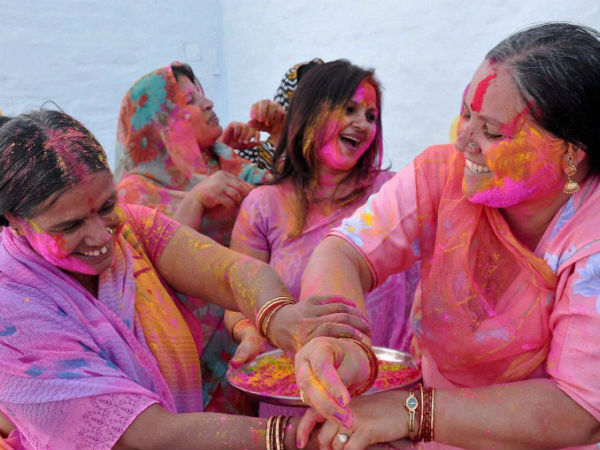 Special three-day Holi celebrations for Vrindavan widows.