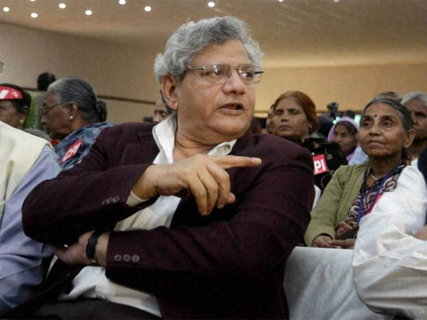 Modi government is RSS government, says Sitaram Yechury.