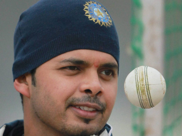 File picture of S Sreesanth