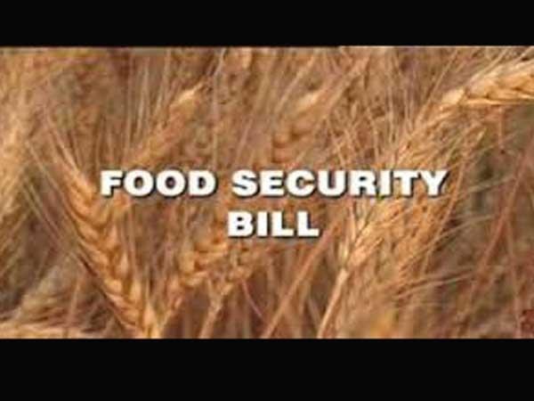 Short essay on food security bill 2013