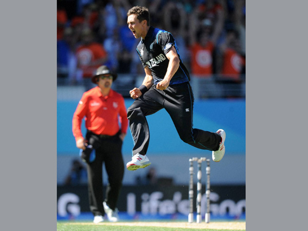 File photo of Trent Boult during the ICC World Cup 2015