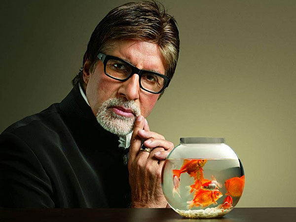 Big B on Cricket pitch now!