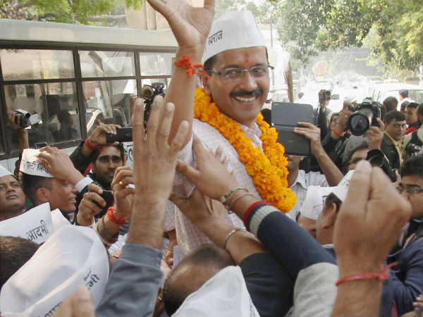 Has Delhi given 'thumbs up' to AAP?