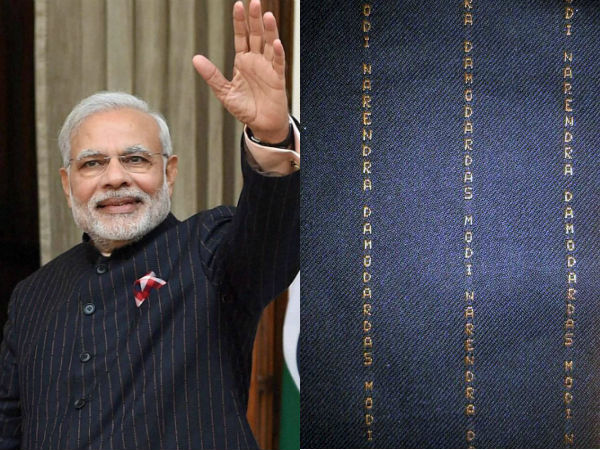 'Modi's suit was not worth Rs 10 lakh'