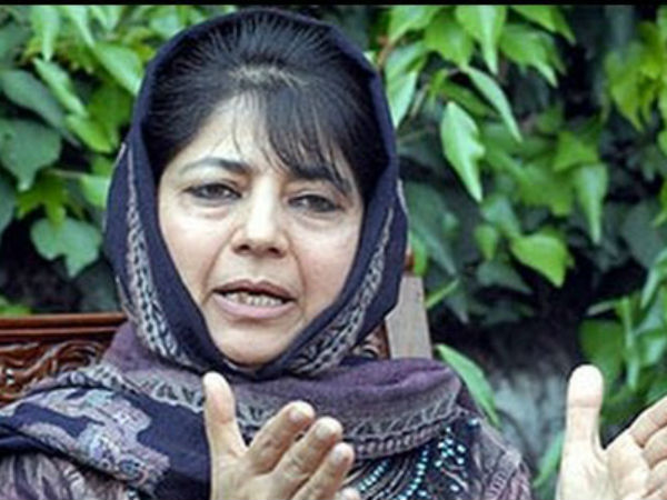 Mehbooba Mufti defends Sayeed's remarks