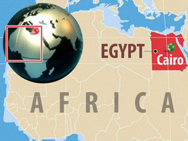 Blast outside police station in Cairo