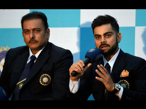 Shastri wants Kohli to be allowed to play freely