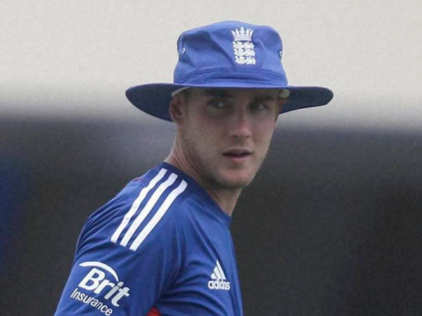 File photo of Stuart Broad