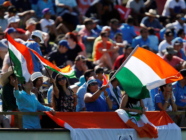 Huge support for India