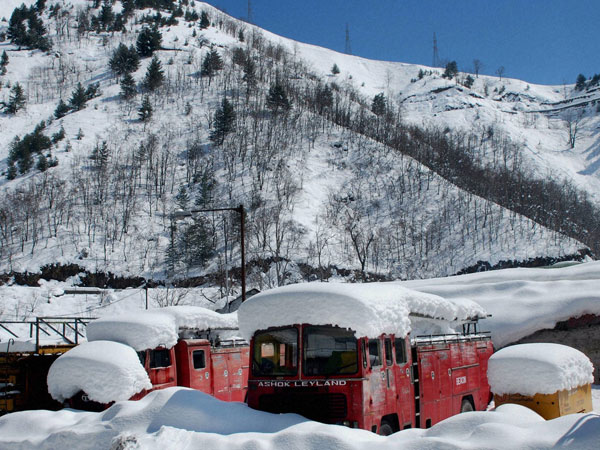 Jammu-Srinagar highway restored