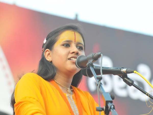 VHP Sadhvi booked for provocative speech