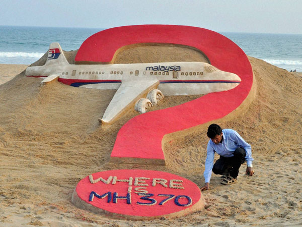 Missing MH370's crew was calm