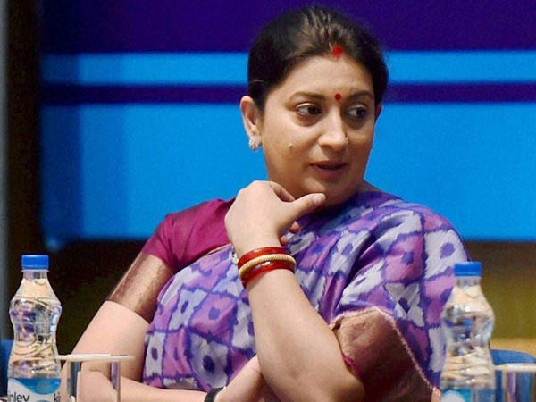Top priority to girl education: Irani